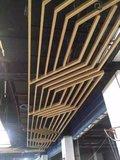 个性木纹方管吊顶3
